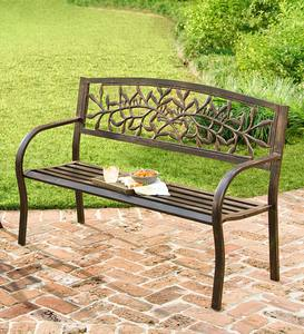 Iron Tuscany Bench