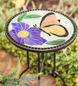 Mosaic Butterfly Table