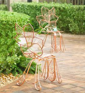 Metal Lily Chair