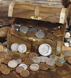 Historic Treasure Chest of Old & Rare Coins