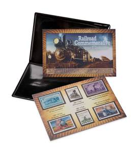 Railroad Stamp Collection