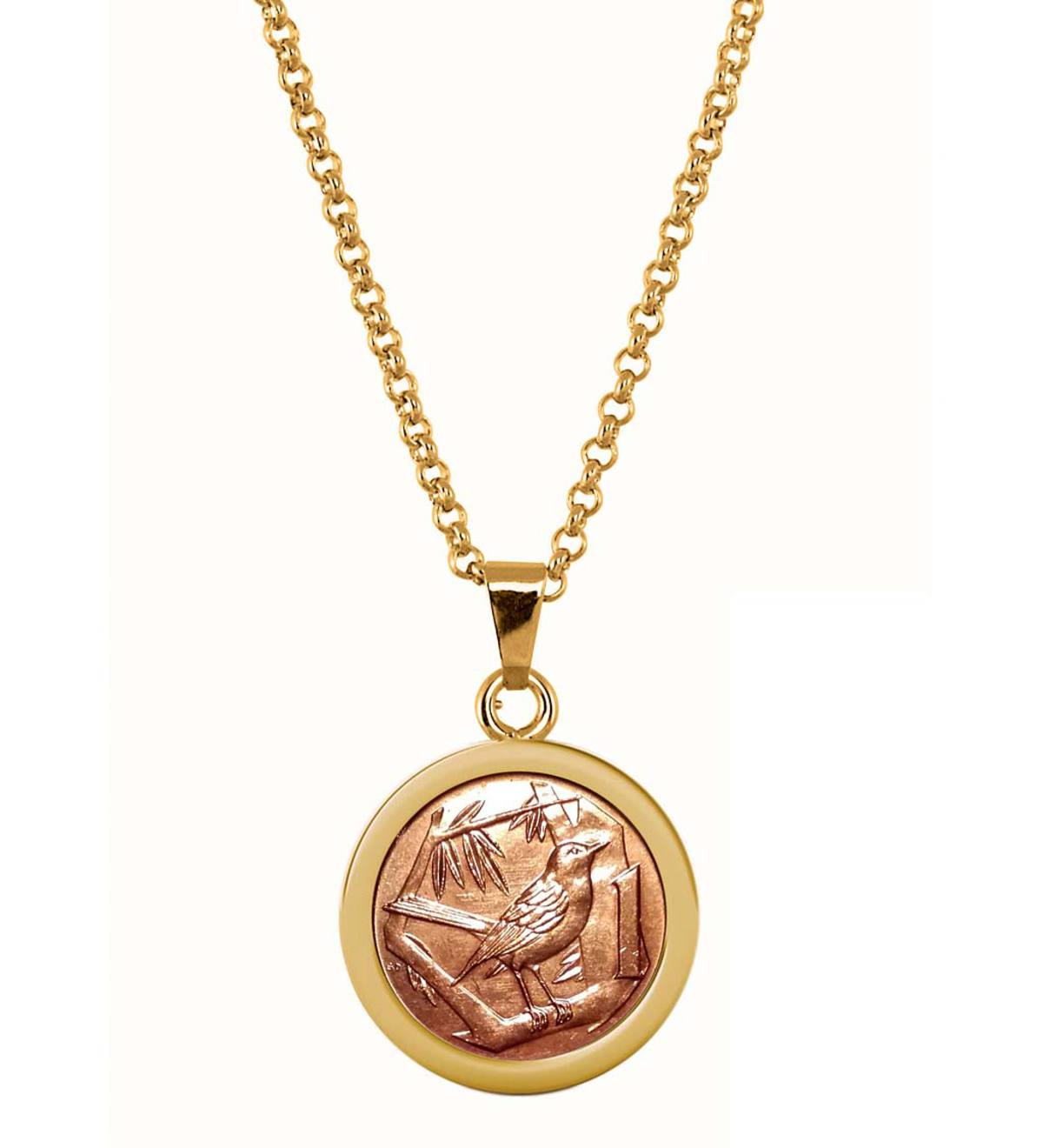 Thrush Coin Necklace