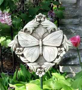 Acanthus Butterfly Wall Plaque by Carruth Studio