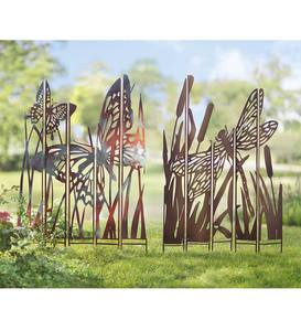 Garden Stakes | Garden Décor by Type | Garden Art | Wind and