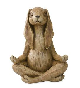 Meditating Rabbit Statue