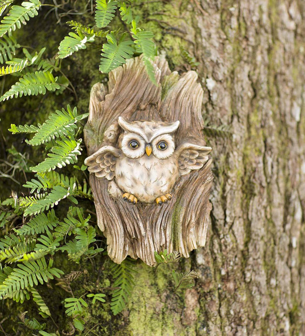 Owl in Tree Wall Art