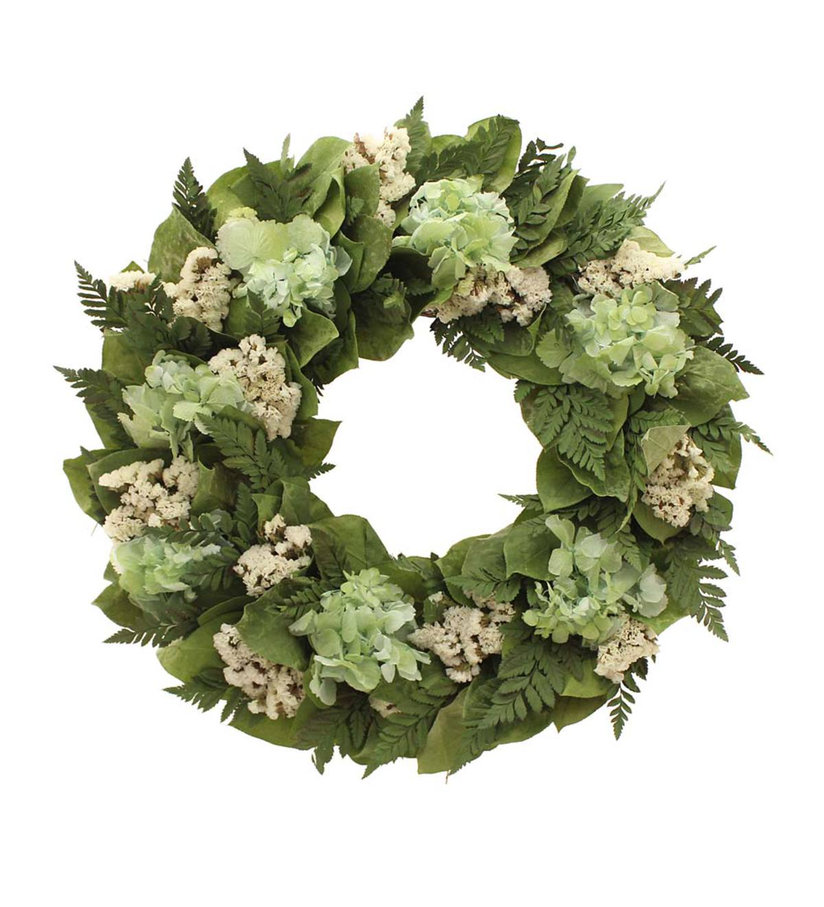 Alfresco Fern Collection Wreath