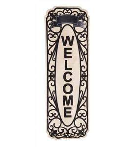 Outdoor Fabric Welcome Banner