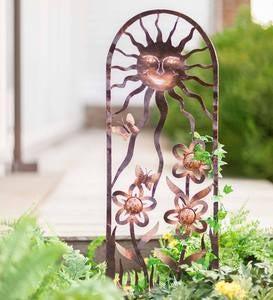 Metal Yard Sculpture | Metal Yard Art | Garden Art | Wind and Weather