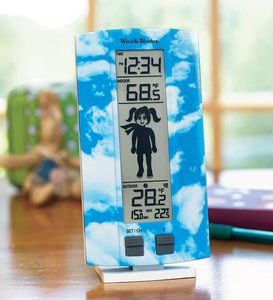 My First Weather Station with a Kid-Friendly Forecast Icon