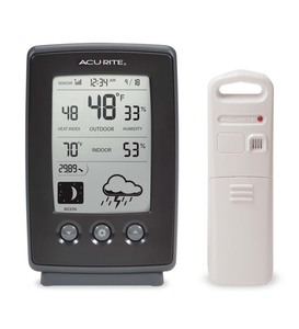 Wireless Weather Station With Remote Sensor