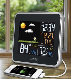 La Crosse Technology®'s Atomic Color Wireless Weather Station
