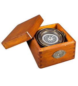 Gimbaled Lifeboat Compass Reproduction