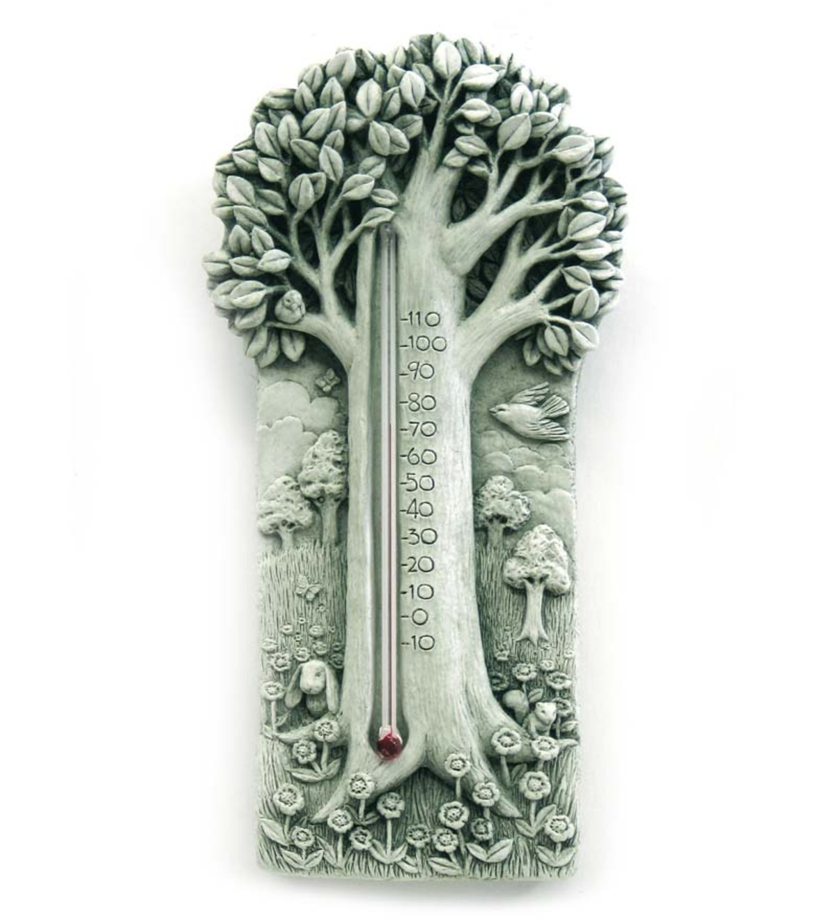 Stone Summer Shade Thermometer by Carruth Studio