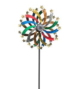 Solar Shooting Star Metal Wind Spinner
