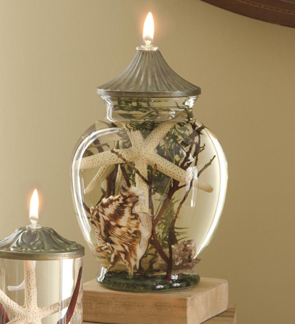 Seashell Oil Candle