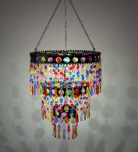 Colorful Solar Mini-Chandelier