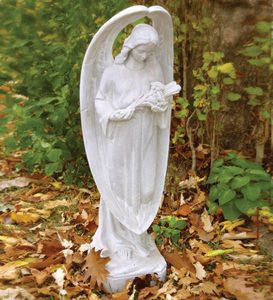 Angel Of Mourning Garden Statue by Orlandi Statuary