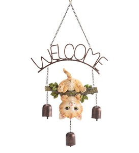 Kitten Welcome Bells