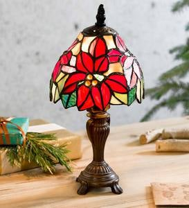 Small Poinsettia Lamp