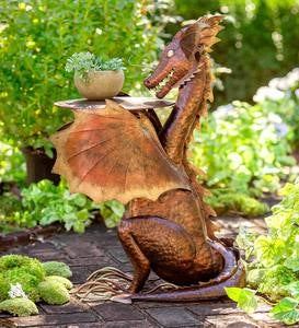 Metal Dragon Side Table