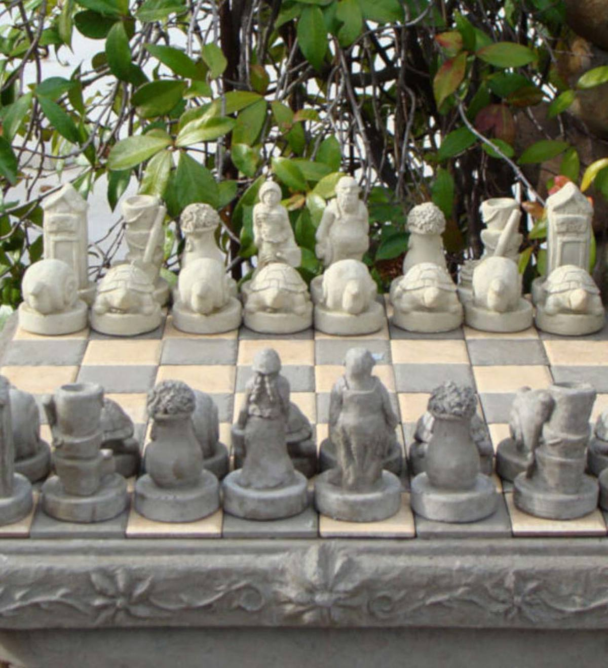 Gardener's Chess Set