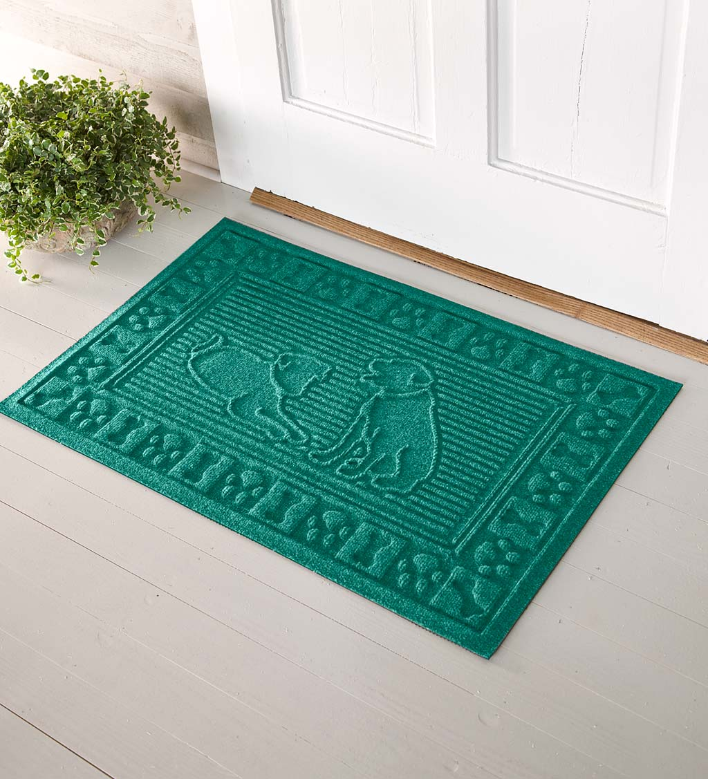 Waterhog Dog Doormat, 2' x 3' - Gray