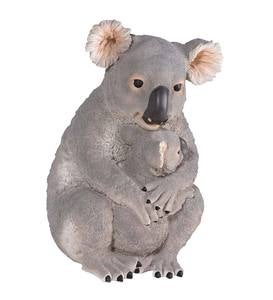 Koala and Baby Sculpture