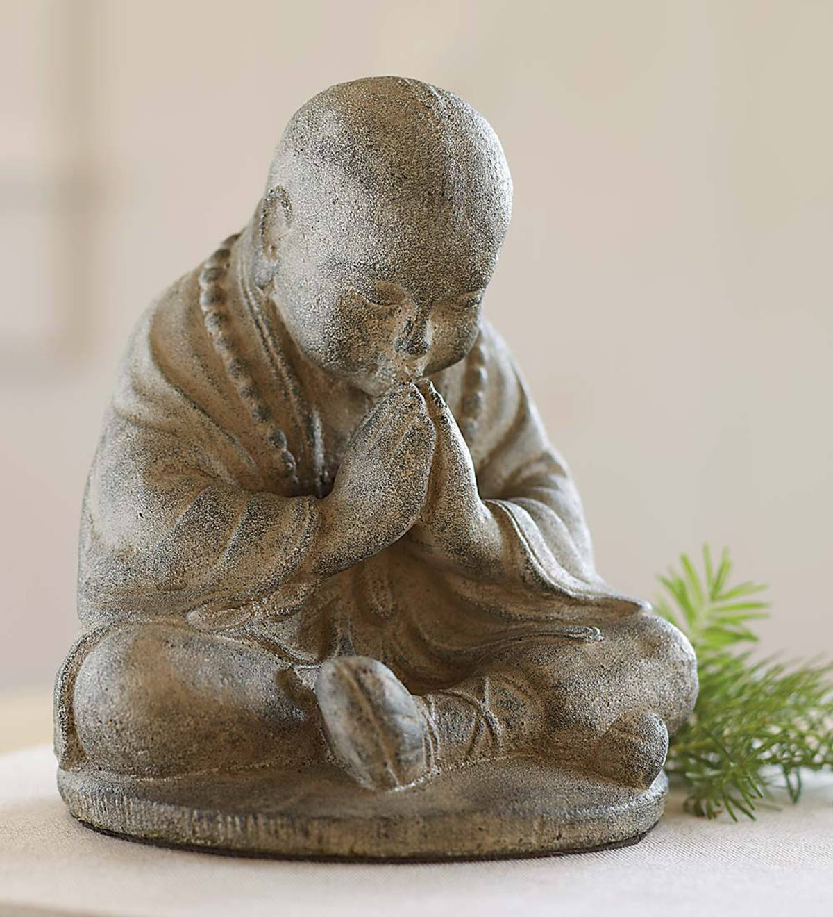 Namaste Monk Statue   Shop New   Hidden and Searchable   Wind and ...