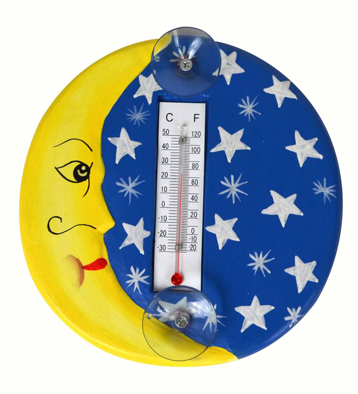 Moon and Stars Thermometer