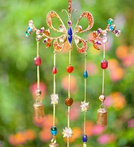 Butterfly Bell Wind Chime