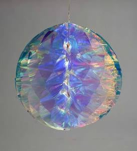 Large Lighted Rainbow Ball
