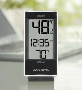 AcuRite Digital Clock and Thermometer with Remote Sensor
