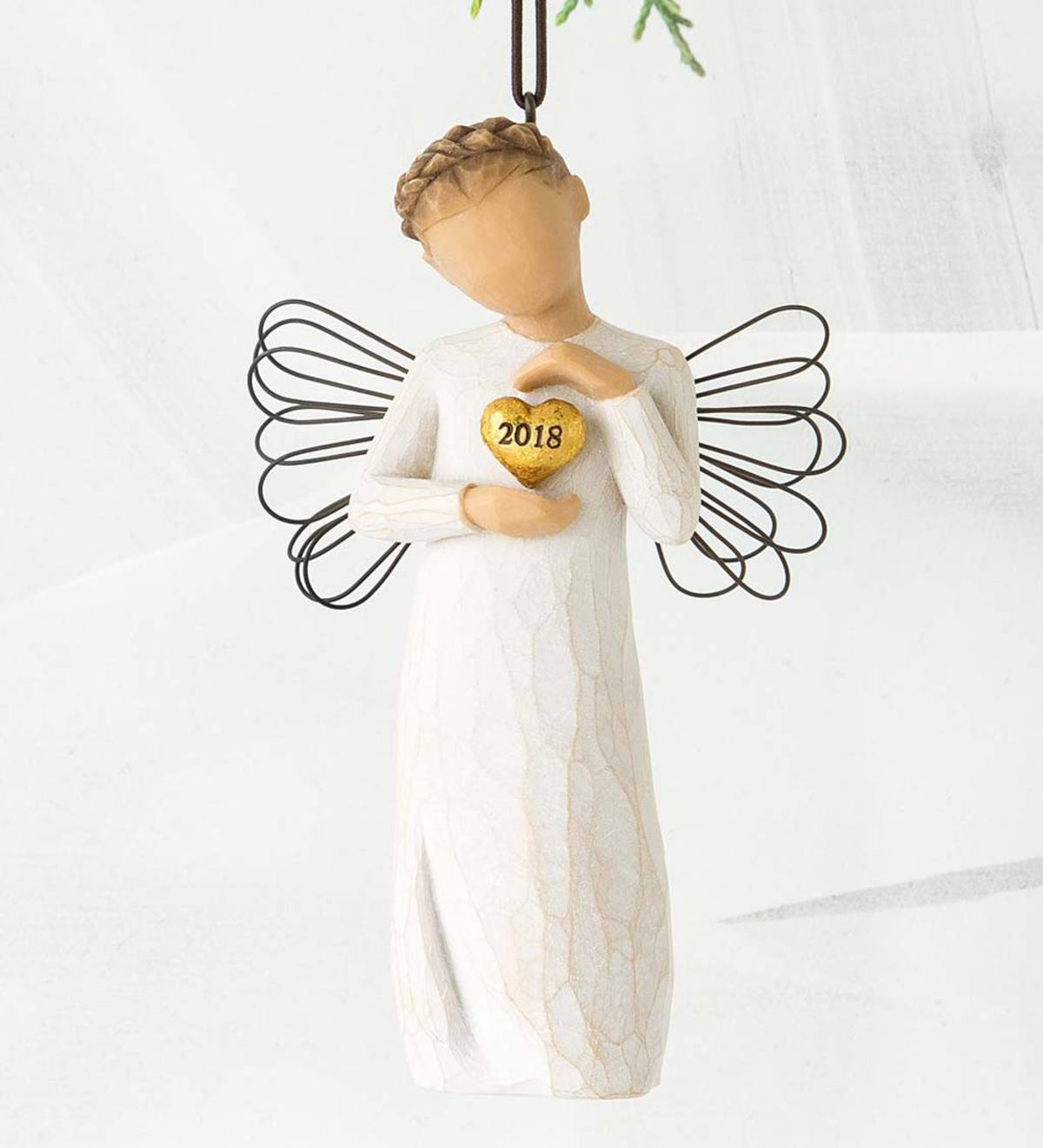 Willow Tree® 2018 Angel Ornament