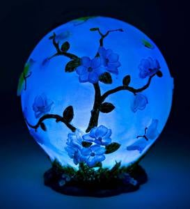 Color-Changing Flower Globe