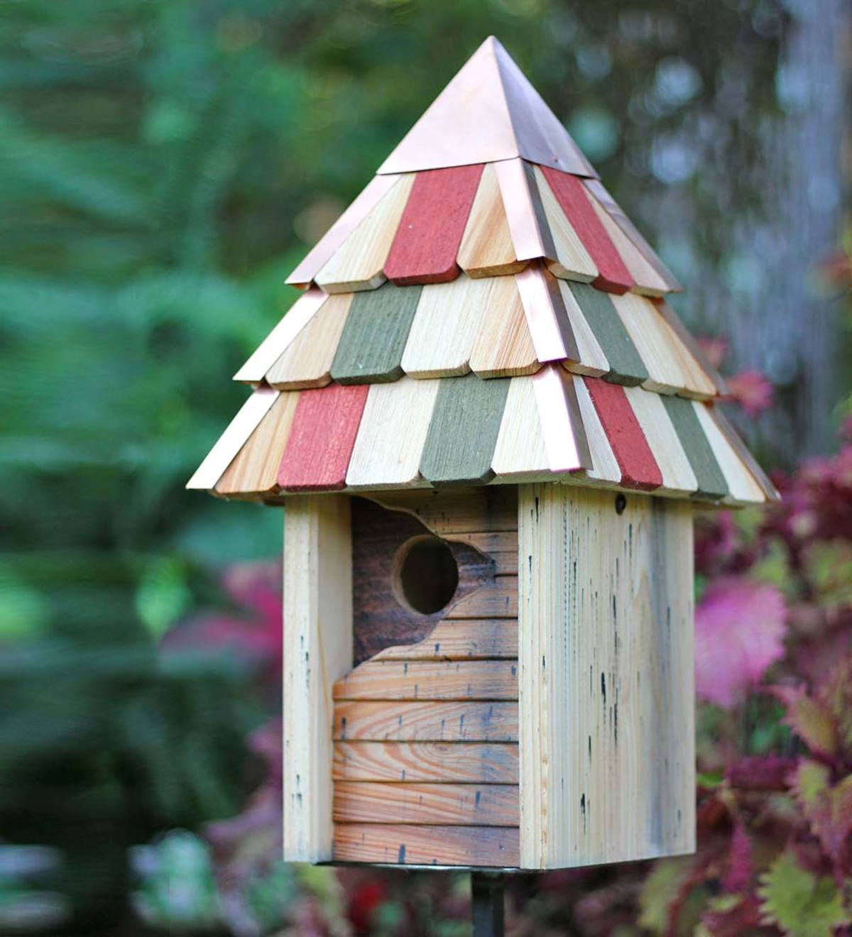 Vintage Gatehouse Cypress Birdhouse