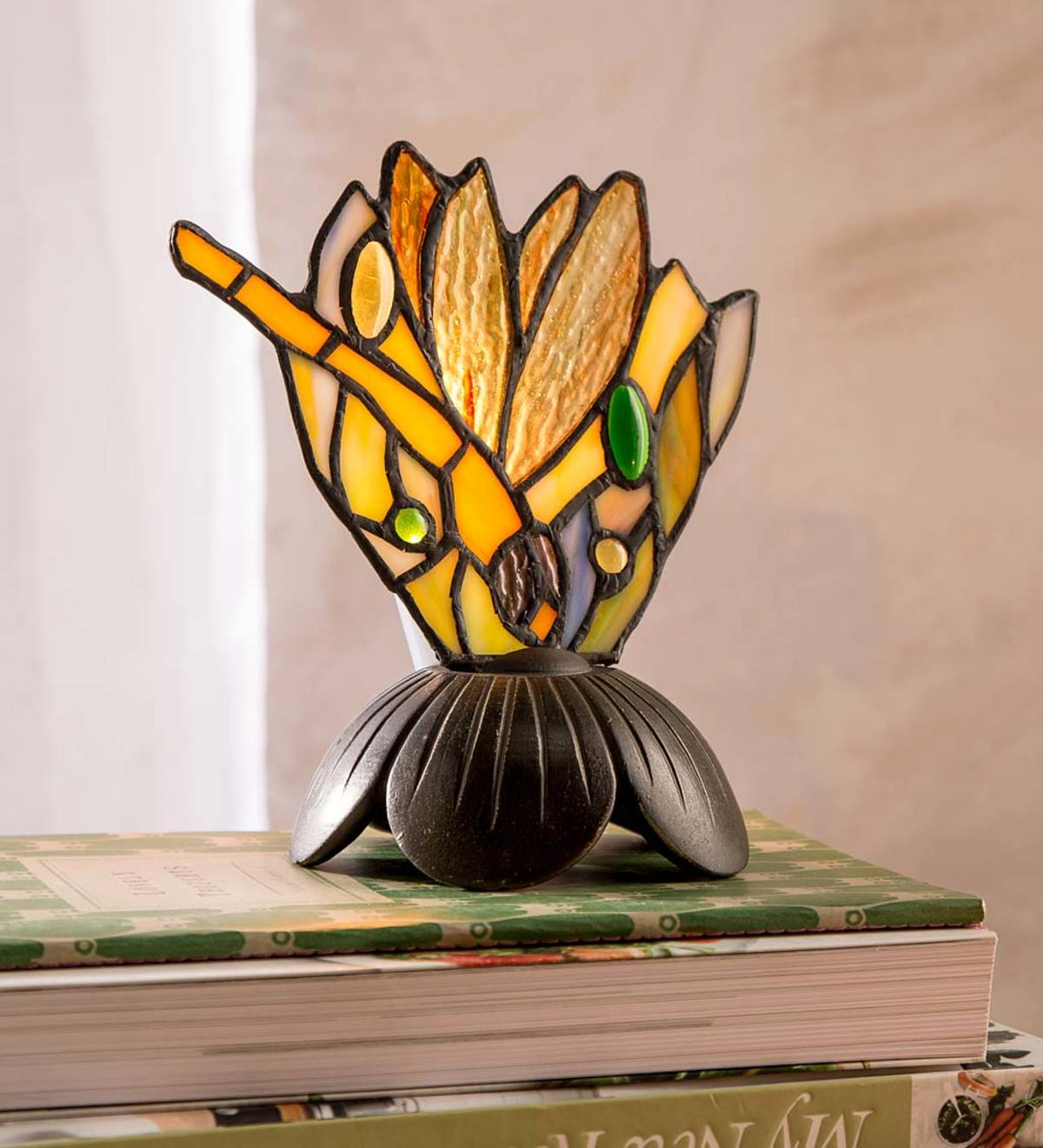 Personalized Butterfly Lamp Ceramic Accent Light