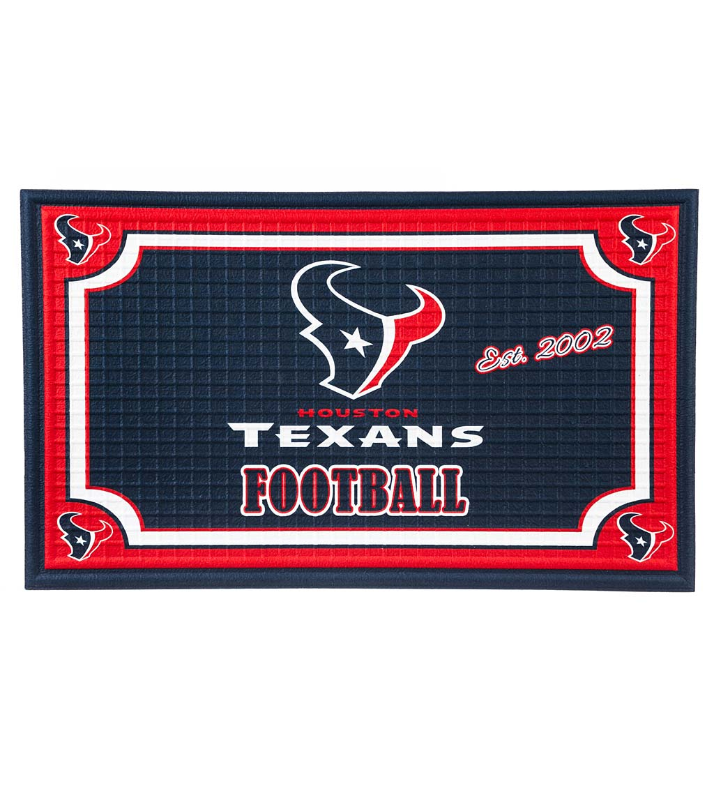 Indoor/Outdoor NFL Team Pride Embossed Doormat - New England Patriots