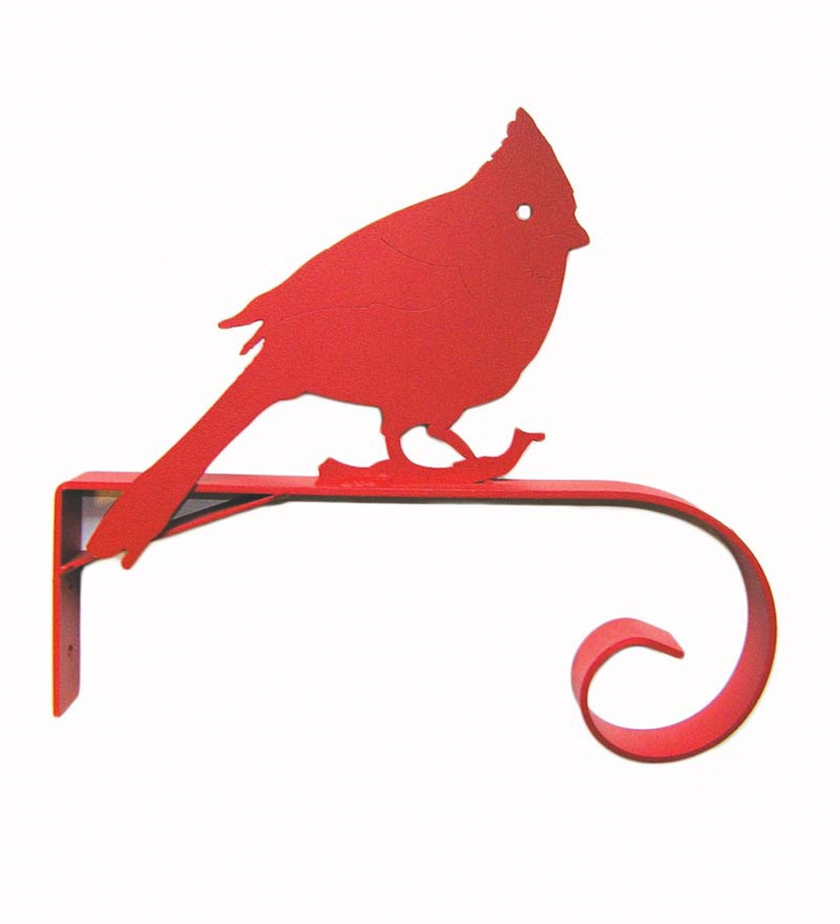 Recycled Steel Red Cardinal Bracket