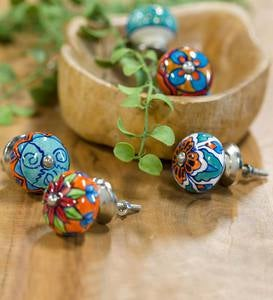 Colorful Ceramic Knobs