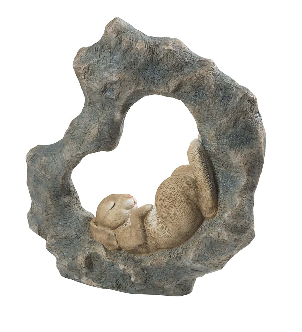 Napping Animal Statue