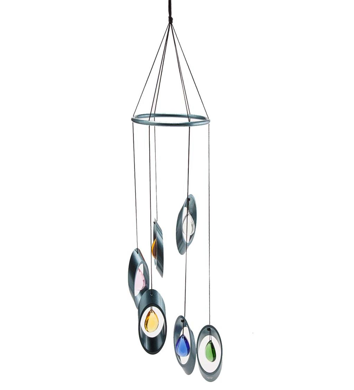 Metal and Glass Wind Chime