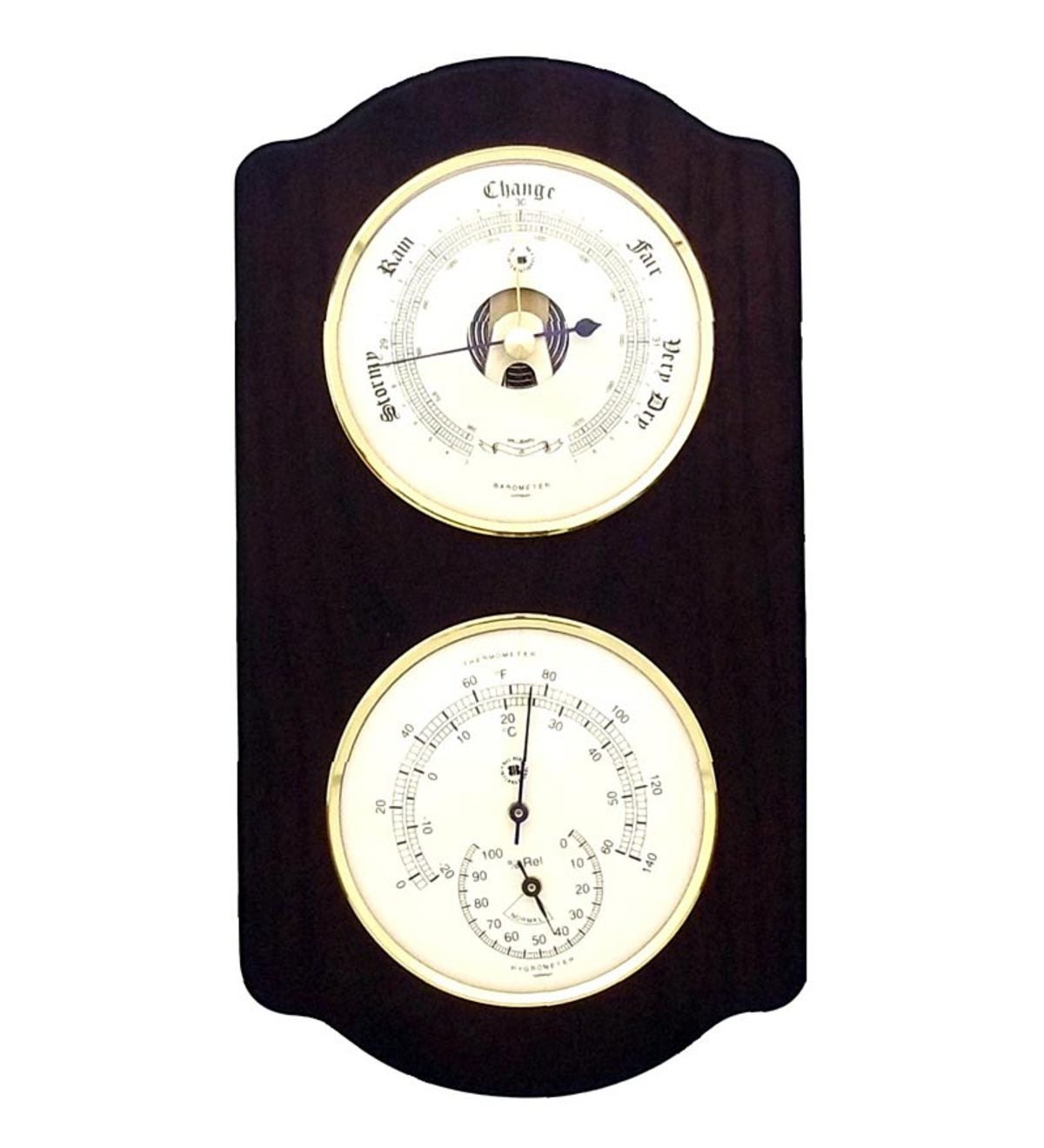 Wall Mount Weather Station With Clock