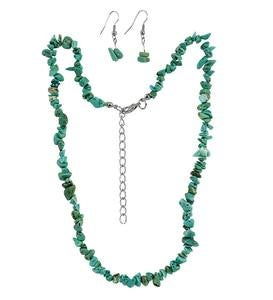 Southwestern Stone Necklace and Earring Set