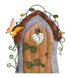 Metal Fairy Door - Butterfly