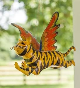 Handcrafted Colorful Metal Flying Tiger
