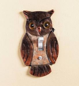 Hand-Painted Light Switch Cover