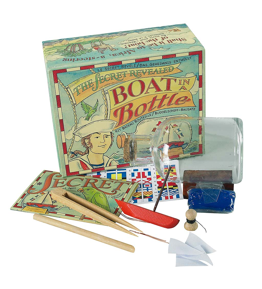 Build Your Own Boat in a Bottle Kit