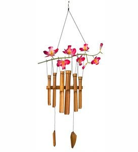 Cherry Blossom Bamboo Wind Chime