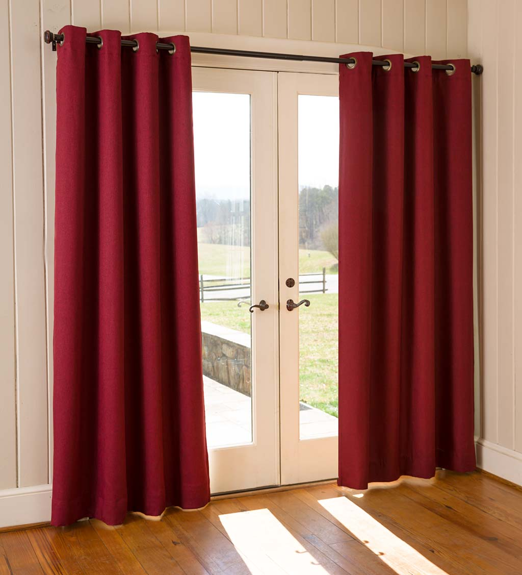 Madison Double-Blackout Grommet Curtain Pairs